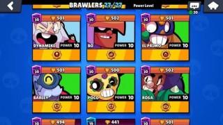 Аккаунт для Brawl Stars — Аккаунт ПРОФИ 😎Все бойцы 💪4 леги⚡Звездные силы